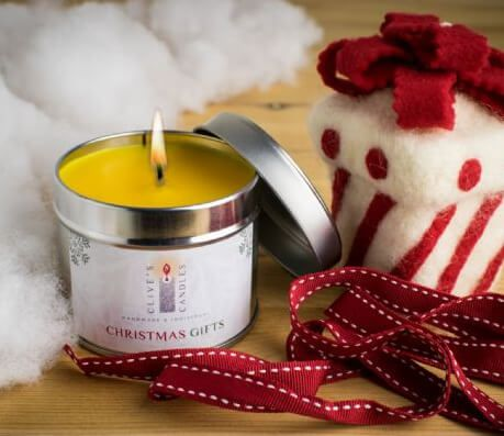 Gold Frankincense And Myrrh Christmas Gifts.Christmas Gifts Scented Candle Frankincense Myrrh