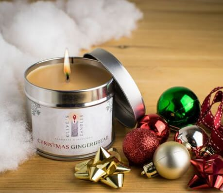 Christmas Gingerbread Candle, Ginger & Spices